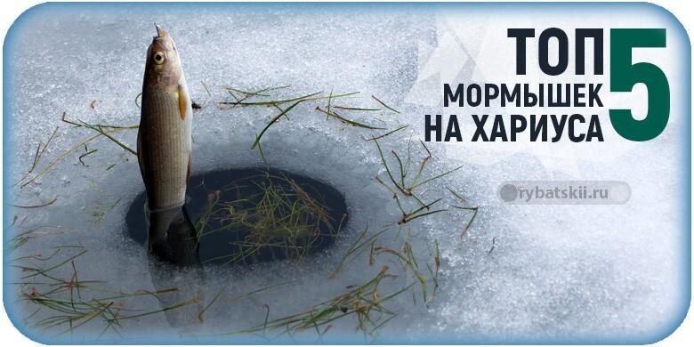 Рейтинг уловистых мормышек на хариуса зимой