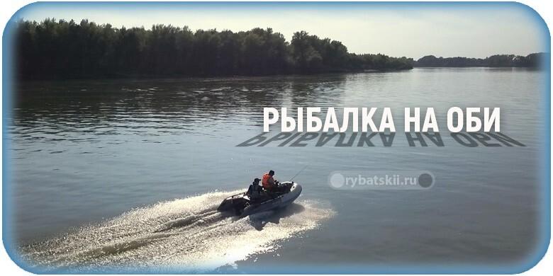 Рыбалка на реке Обь и тактика ловли разных видов рыбы