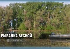 Рыбалка весной и тактика ловли рыбы в весенний период