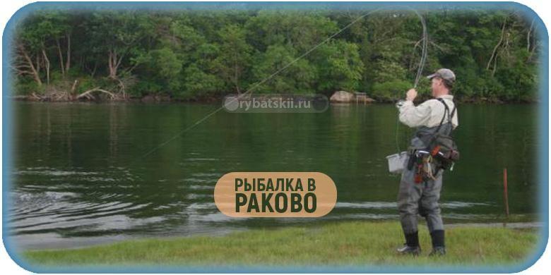 Рыбалка в Раково в 2020 году