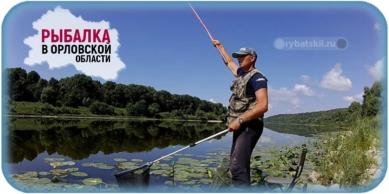 Лучшие бесплатные и платные места для рыбалки в Орловской области