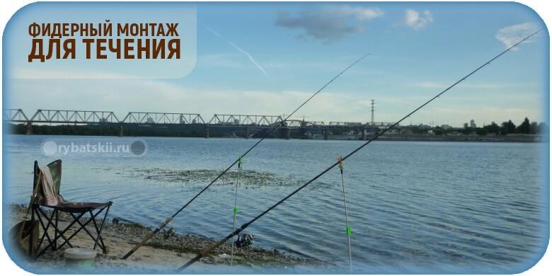 Фидерные оснастки для ловли на течении и монтажи для реки