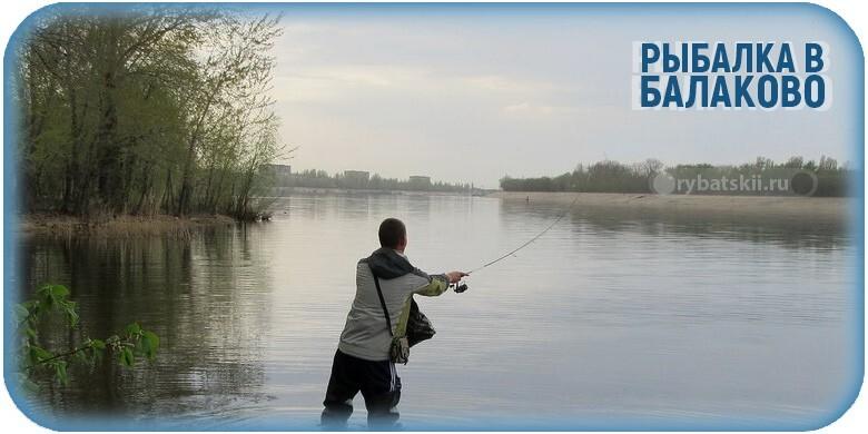 Где лучше всего клюёт рыба в Балаково и куда отправится на рыбалку