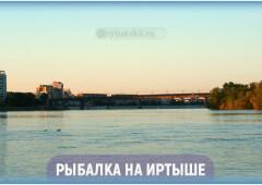 Ловля рыбы на Иртыше по сезону и лучшие рыбные места