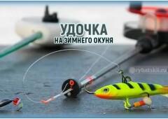 Выбор и оснастка удочки на окуня для зимней рыбалки