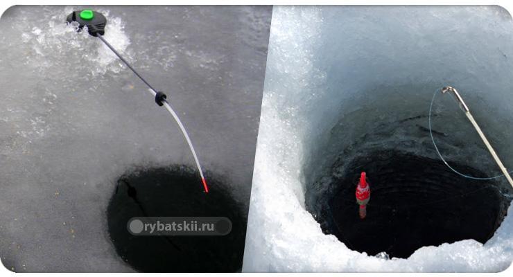 Ловля рыбы на тесто