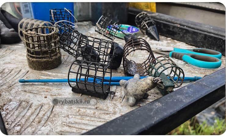 Кормушки для рыбалки круглые