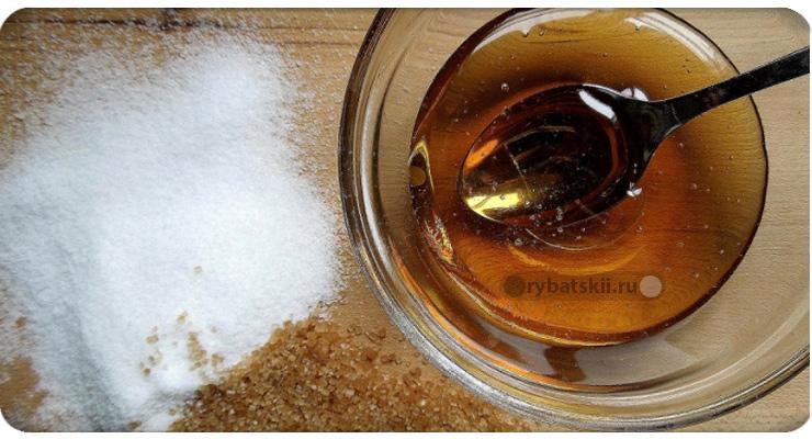 Мёд и сахар