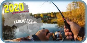 Календарь рыбака в Московской области в 2020 году
