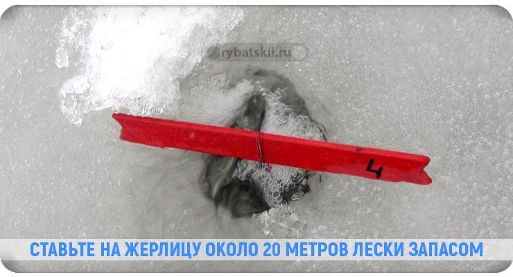 Виды жерлицы на судака зимой и изготовление своими руками