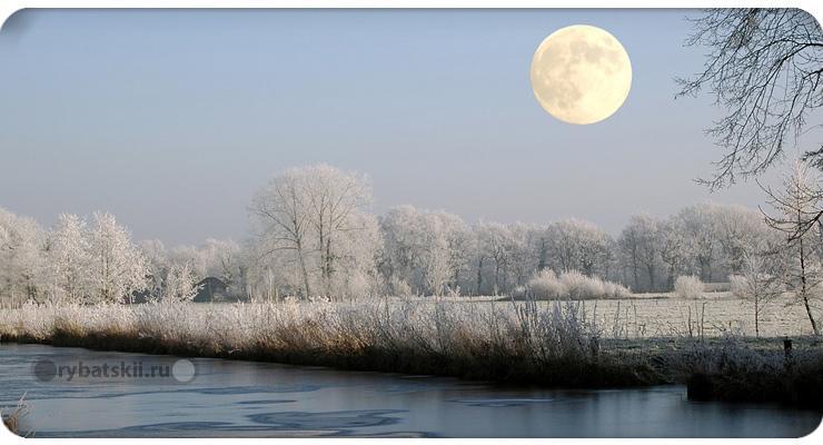 В какую погоду лучше клюёт щука зимой и при каком давлении