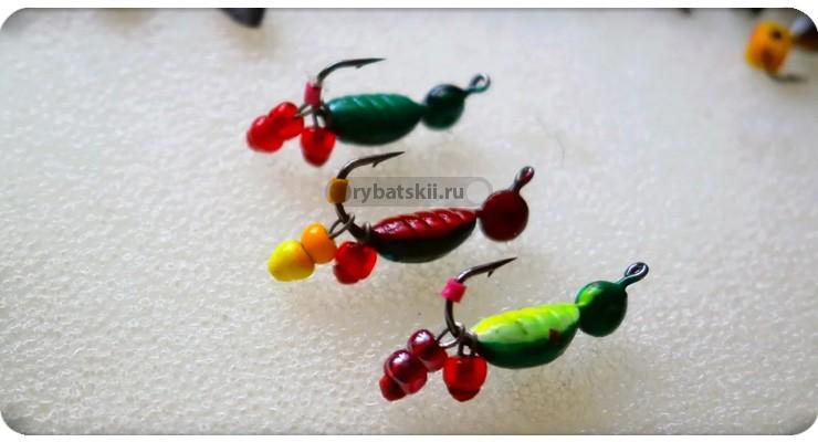 Самые уловистые мормышки на окуня зимой и как их выбрать