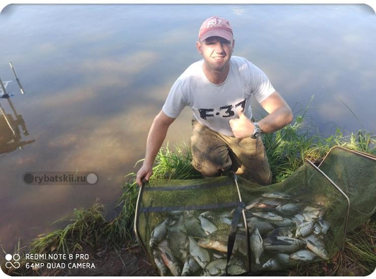 Интервью с спортсменом разрядником в фидерной ловли Ильёй Назаренко