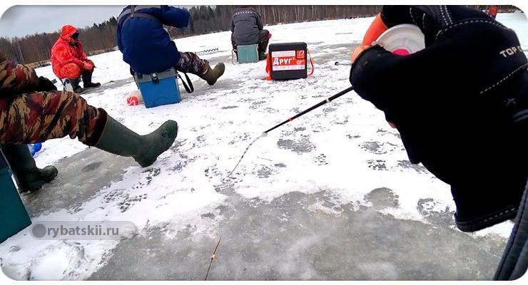 Ходовые мормышки на плотву зимой и техника ловли