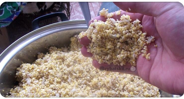 Как приготовить салапинску кашу для фидера и хранить прикормку