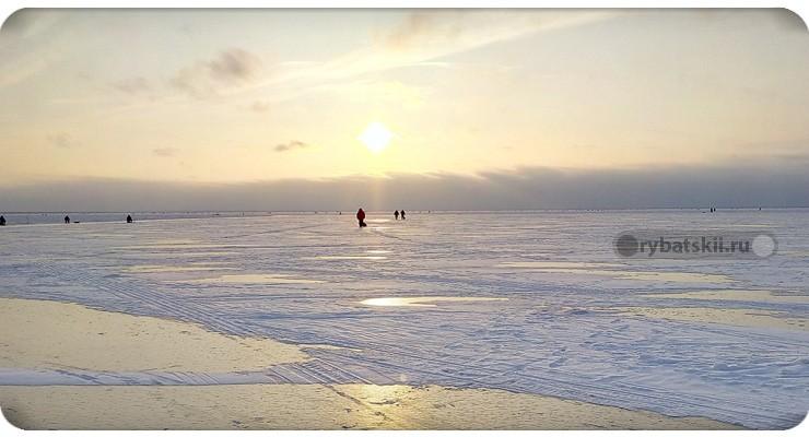 Зимняя ловля на Ладоге