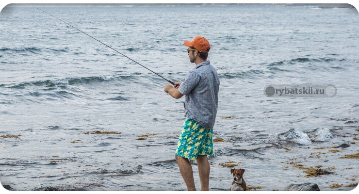 Рыбалка на море на спиннинг