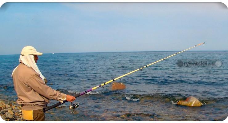 Морская ловля на донку