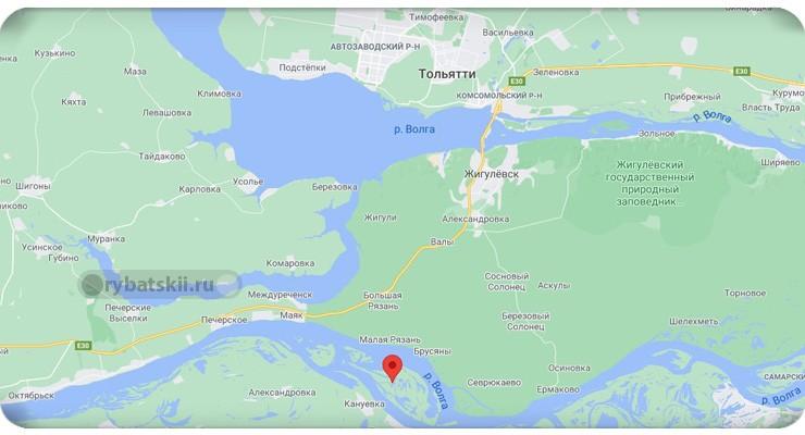 Валисьевские острова у Тольятти
