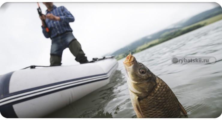 Рыбалка на Оби с лодки