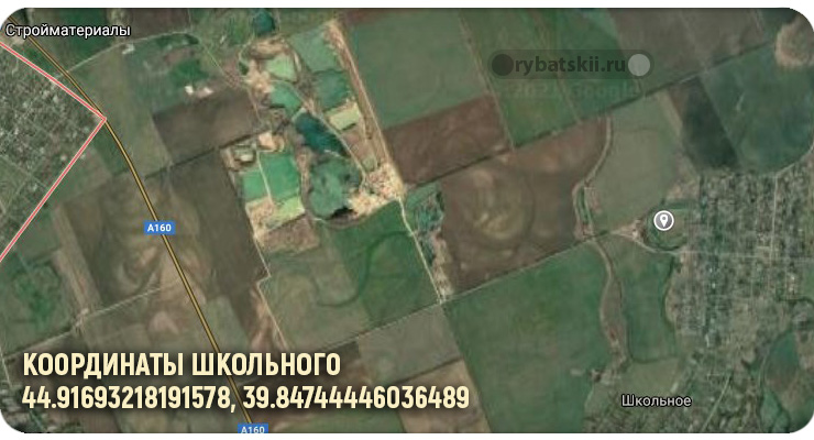 Пруд села Школьное