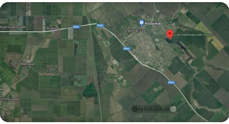Шаповаловские пруды