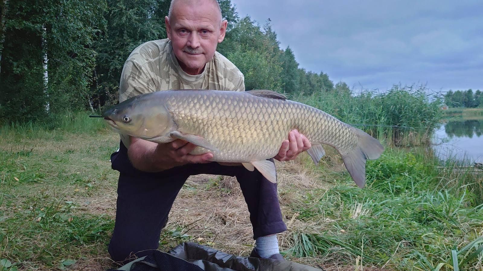 Фото с рыбалки амура более чем 10 кг