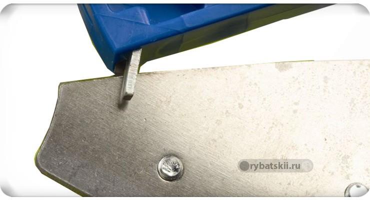 Заточка ножа ледобура