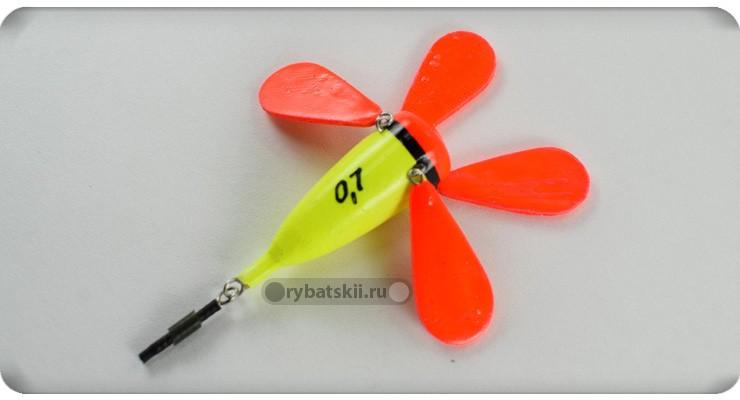 Поплавок цветок для зимней рыбалки